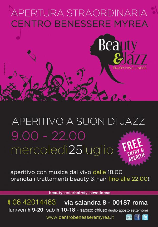 evento beauty&jazz 25 luglio